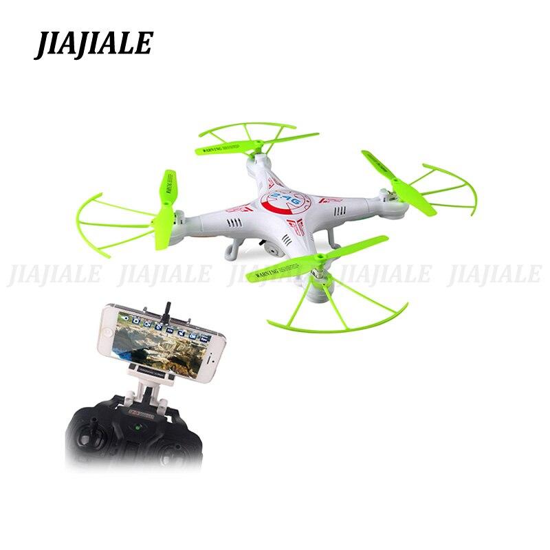 2017 NOVA 2.4g 4CH 6-Eixo X5C Atualizado 2MP X5C-1 Qelicopter Quadcopter RC drone com FPV Câmera WI-FI brinquedos de Controle remoto Presente