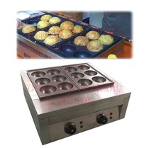 Large diameter 80mm Electric Takoyaki machine Japan Takoyaki grill