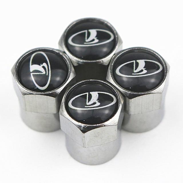 4 pièces nouveau boîtier de tige de bouchons de Valve de pneu de roue en métal pour Kia Ford Nissan Opel Lada Skoda Hyundai Audi Bmw Renault Alfa Romeo 4