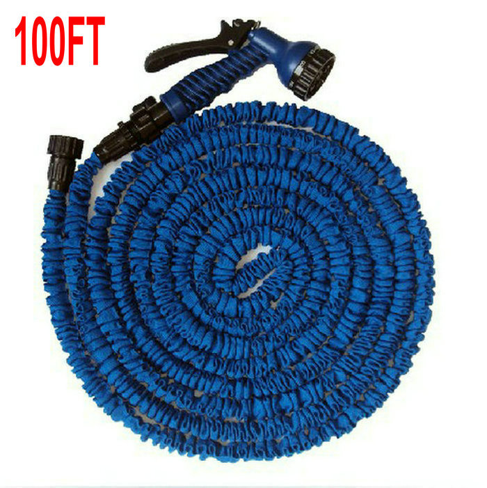 Wholesale 100FT 25M Watering Kit Garden Hose Expandable Flexible hose Garden hose in Strong Rubber and 7 Forms Spary Gun in Watering Kits from Home Garden