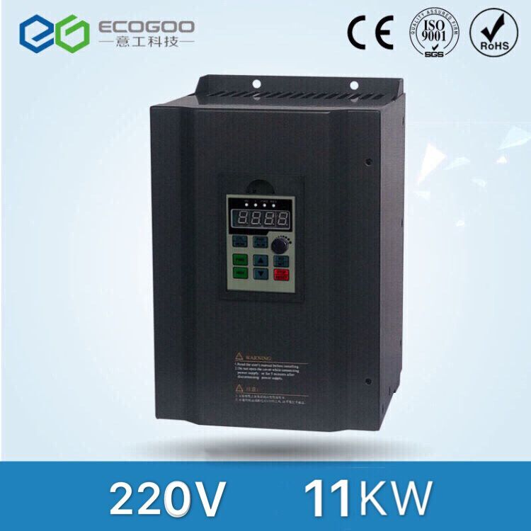 Hot ! 11kw 220V Multi-Functional Frequency Solar Inverter, DC-AC Drive three phase 380v 11kw multi functional ac drive for air compressor