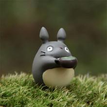 Hot Sprzedaży 1 sztuk Miyazaki Mój Sąsiad Totoro Zabawki Pić Herbatę Micro Krajobraz Ogrodnictwo Doniczkowe Dekoracji Action Figure Zabawki tanie tanio Unisex Żołnierz zestaw 2 8cm Wyroby gotowe Model Zapas rzeczy Film i telewizja Remastered version Japonia none 1 60 3 lat