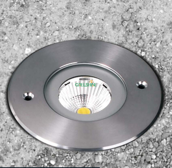 CREE 7 Вт COB IP67 Светодиодный светильник из нержавеющей стали, светодиодный светильник, Плаза, утопленный свет, подземный подъем, 8 шт./лот