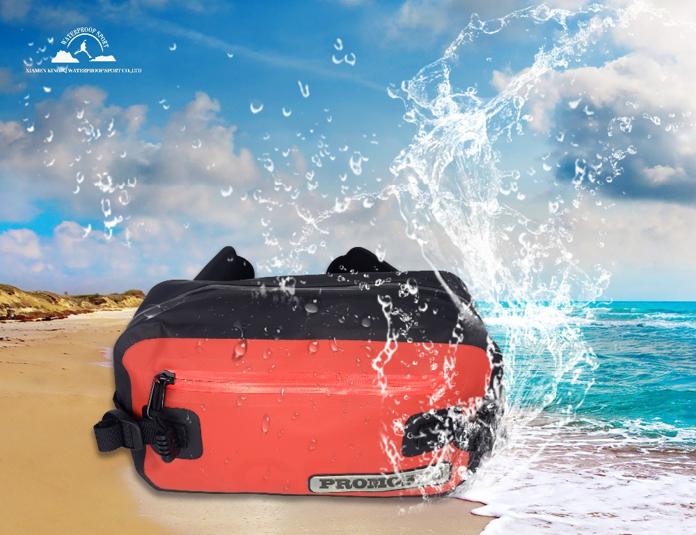 Prix pour Promostu 2017 qualité Imperméable À L'eau sac Camping Randonnée Ourdoor Taille sac sac étanche plage de pêche de bain sac cas