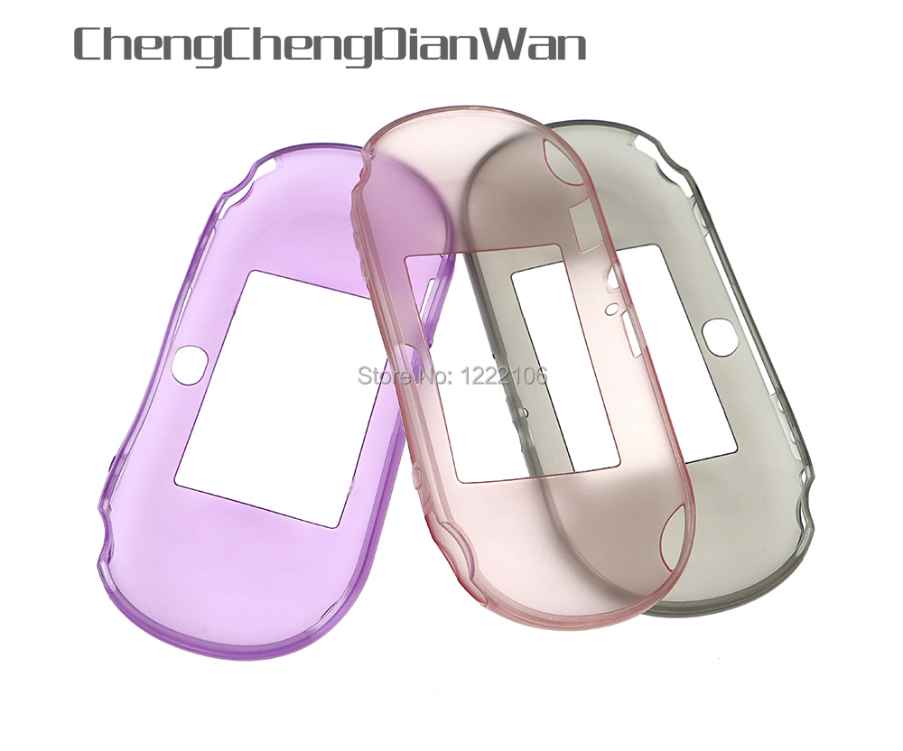 ChengChengDianWan Silicone shell TPU Protective silica gel Cover Skin for PlayStation <font><b>PS</b></font> <font><b>Vita</b></font> PSV2000 Cases image