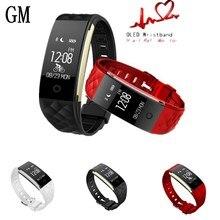 Смарт-часы крови Давление фитнес-трекер S2 IP67 Водонепроницаемый сердечного ритма браслет F or Android 4.3 iOS 7.0 or выше телефон