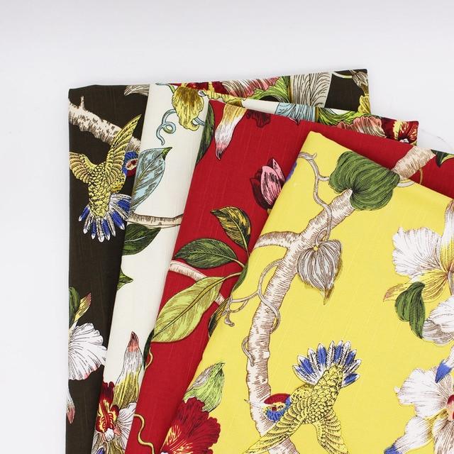 Umwelt Bambus Baumwolle Stoff Retro Hause Tuch Tisch Stoffe Aktive