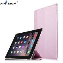 Leather PU Tablet for iPad4 iPad 3 2 Sleeve Covers 9.7 Inch Case for Apple iPad 4 iPad3 iPad2 Protective Smart Cover Protector 9h hd tempered glass membrane for ipad 2 ipad 3 ipad 4 screen protector film for ipad2 ipad3 ipad4