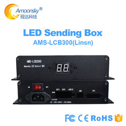 Linsn ts802 sending box included power with brightness adjust support linsn ts802d sending card for p5 led panel display