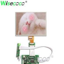 8 Inch 1024x768  TFT  HJ080IA-01E HE080IA-01D LCD Monitor Screen + Driver Board HDMI VGA 2AV for Raspberry Pi 3 / 2 Model B / PC