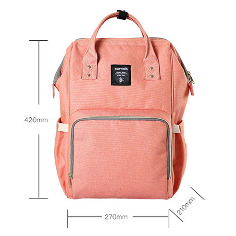 Brand Fashion Mommy Backpack For Nappies Bag Large Capacity Mother Backpack Diaper Maternity Backpack Babies Products 2017 New