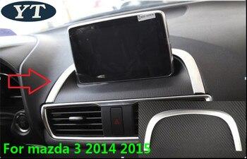 auto interieur accessoires auto innerlijke strafrechtelijke trim moulding voor mazda 3 2014 2015 type a auto accessoires