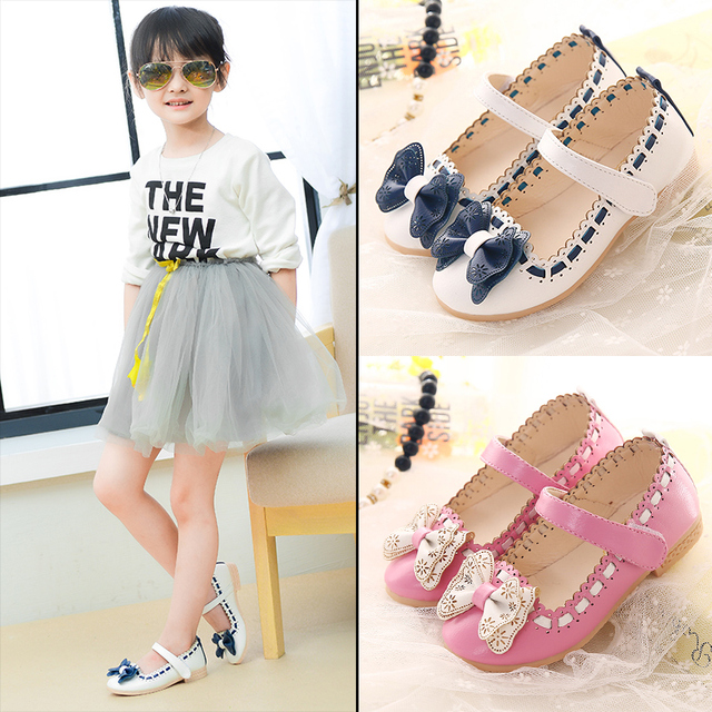 6f908a94e1a9b 2019 new children sandals girls sandals summer fashion kids sandlas cute  buttery tie design princess shoes girls Bowtie shoes