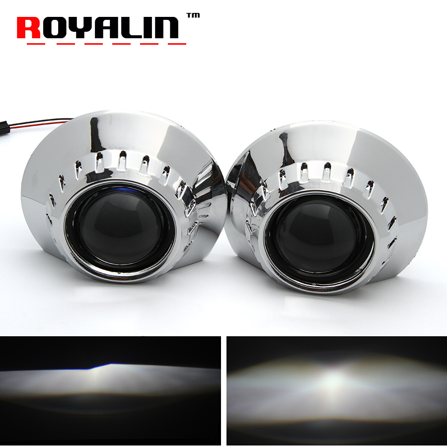 ROYALIN W2 For BMW E46 E36 E90 Headlight Lens Sedan Wagon Coupon ZKW 2 5 H1