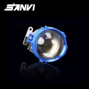 Sanvi Blue bi led lens project