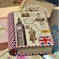 2016 nueva ZAKKA Mini lata de tipo libro de caja de dulces estaño de embalaje del caramelo cajas de regalo caja de comida