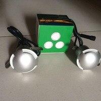 Waterproof Mini 3W Led Underground Paving Light Led Floor Deck Spotlight Outdoor Led Buried Inground Lamps