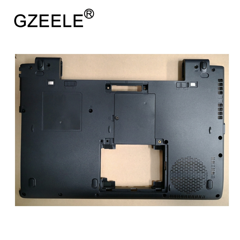 GZEELE New Laptop Bottom Base Case Cover For Toshiba TECRA R840 R845 R940 R945 Base Chassis D Cover Case shell lower cover BLACK gzeele new laptop bottom base case cover for toshiba p50w p55w p55w c p55w c5312 base chassis d cover case shell lower cover