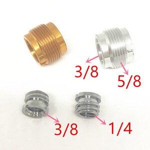 "Image 1 - 5/8 بوصة ذكر إلى 1/4 بوصة أنثى Mic برغي محول Fr Mic ميكروفون حامل 5/8 "" 27"