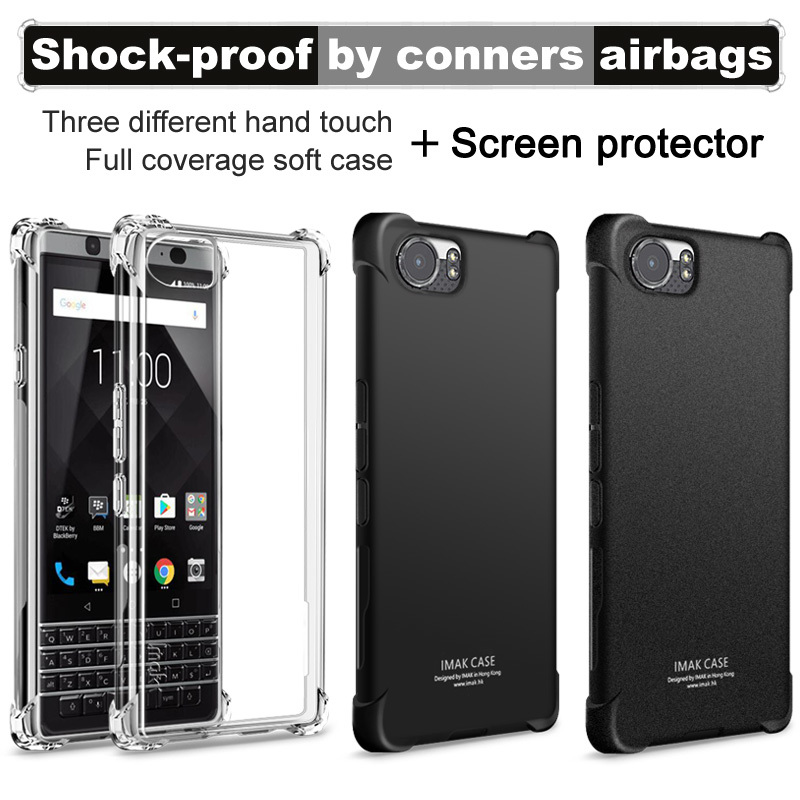 Blackberry Keyone Case With Screen Protector