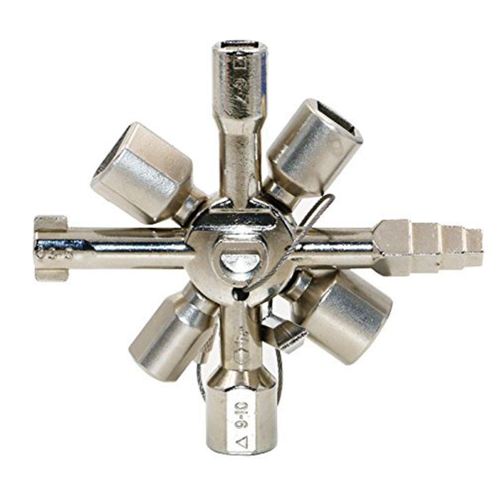 Многофункциональный 10 в 1 перекрестный ключ, ручные инструменты для электрика, водопроводный клапан, универсальный квадратный ключ