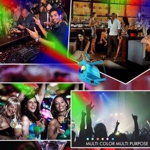 Image 5 - Grnflash led projetor de 7 cores, luz de palco, efeito de água, lâmpada laser, auto flash, led, ativado por som, para discoteca, dj, festa, palco luzes para iluminação