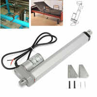 DC 24V 750N Heavy Electric Linear Actuator Motor 10mm/s 100mm 150mm 200mm 250mm For Electric