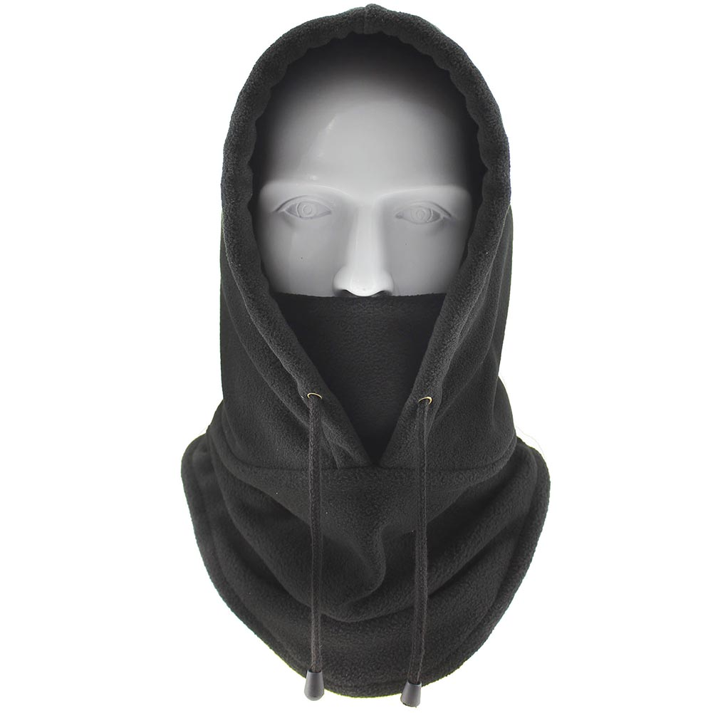 Ninja Face Mask Snow Windproof Winter Ski Drawstring Cap Hat Cover Sport TH36