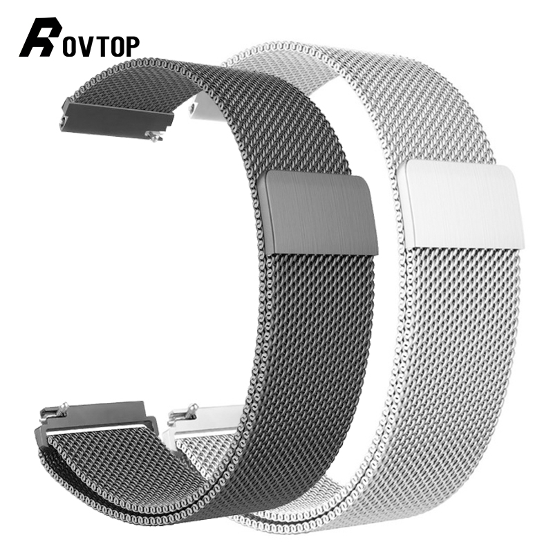 Milanese Loop for Apple Watch Band Strap 42mm/38mm Iwatch 4/3/2/1 Stainless Steel Link Bracelet Wrist Watchband Magnetic Buckle