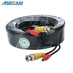 Высокое качество BNC видео кабель видеонаблюдения камера DC мощность медь Core AHD CVI наблюдения DVR системы установка интимные аксессуары