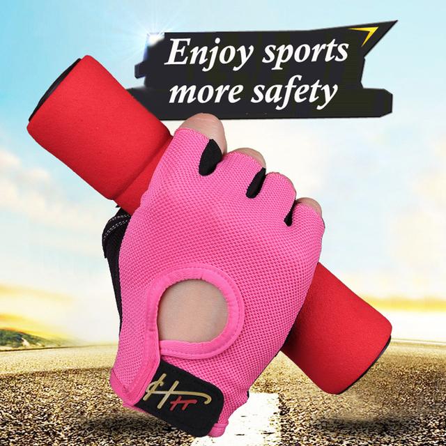 Anti-skid Half Finger Gym Gloves