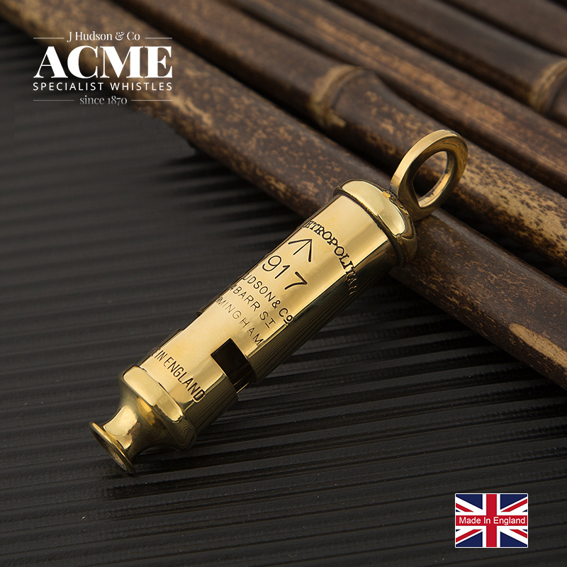 ACME 1917 War Memorial Edition Metal Retro Collection Whistle Fashion Necklace Pendant Sound Clear And Loud Survival Whistle