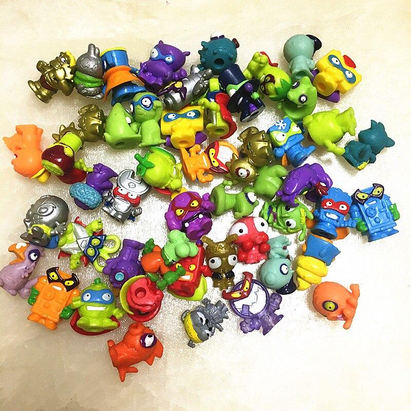 Dolls Action-Figures Playing Animal-Garbage Trash Zomlings-Superzings Rubber-Model Kids