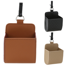 Best Design Car Vent PU Leather Storage Box