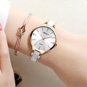 Image 4 - NIBOSI Vrouwen Horloges Armband Horloge Dames Polshorloge Vrouwen Waterdichte Fashion Casual Crystal Dial Rose Gold Relojes Para Mujer