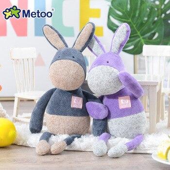 Мягкая плюшевая игрушка ослик Metoo 3