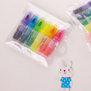 Image 2 - 72 pcs/Lot Mini highlighters Cute fluorescent marker pen for reading book Kawaii Stationery Office School supplies A6975