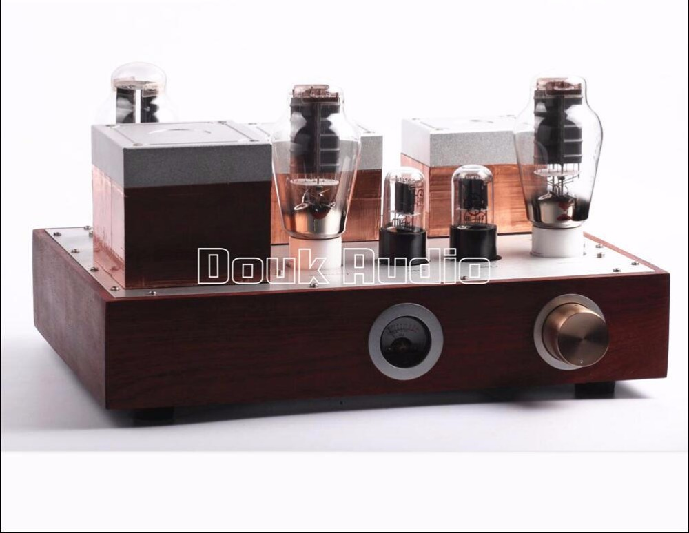 2017 Lastest Hi-end 300B Vacuum Tube Amplifier Stereo HiFi Integrated Amp DIY Handmade hi end 300b valve