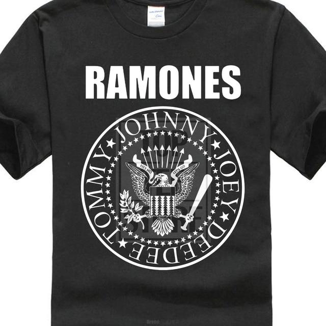 0bb38385a73 High Quality Custom Printed Tops Hipster Tees T Shirt Impact Men S Ramones  Presidential Seal T Shirt