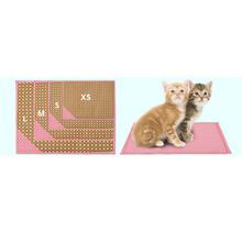 Colorful Bamboo Pet Dog Puppy Cat Feeding Mat Pad Cute Bed Dish Bowl Food Water Feed Placemat Wipe Clean Pet S Shower Mat