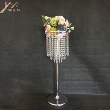 Acrylic Flower Rack Crystal Wedding Table Centerpiece 78 CM Tall 24 CM Diameter Road Leads Party And Home Decor