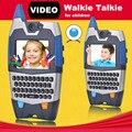 Видео Говорить Walkie Talkie Для Детей Интересные Связи Игрушка с Qwerty Радио 150 м Обсуждение Диапазон