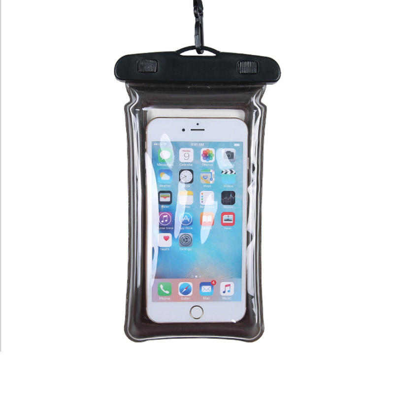 Waterproof Underwater Photo Airbag Mobile Phone Bag Spa Swimming Universal Touch Screen Snorkeling Cover