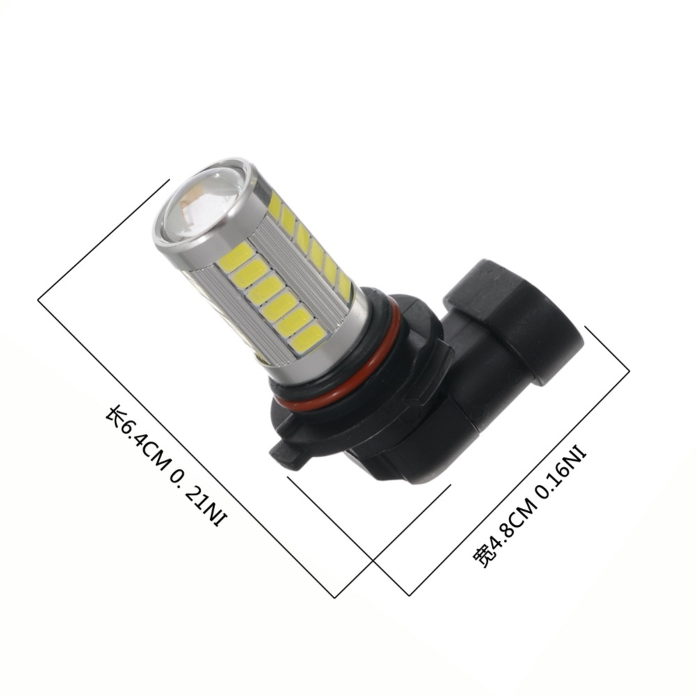 ONEWELL 2Pcs Car H8 H11 Led 9005 9006 T20 33SMD LED Fog Lamp Running Light Bulb Turning Parking Bulb DC12V
