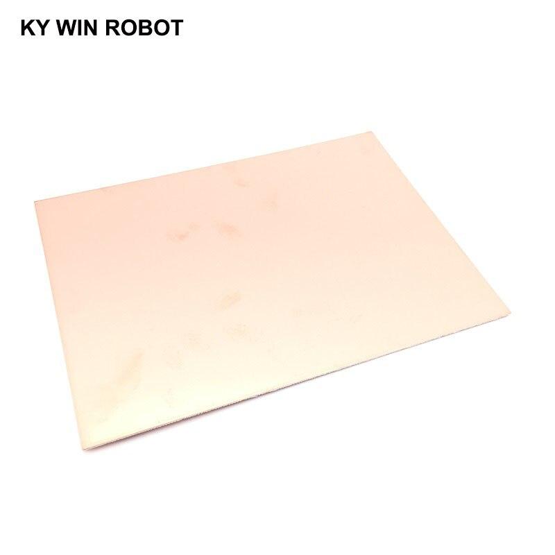 1 шт. FR4 PCB 15*20 см двухсторонняя медная плакированная пластина, сделай сам, набор печатных плат, ламинат, печатная плата 15x20 см