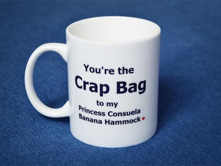 New Friends Tv Show Series White Ceramic Coffee Tea Cup