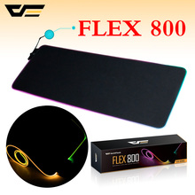 darkFlash Computer mouse pad USB Wired RGB Colorful Lighting Gaming Mouse pad 300mm*800mm high quality Non-Slip Laptop Mouse pad