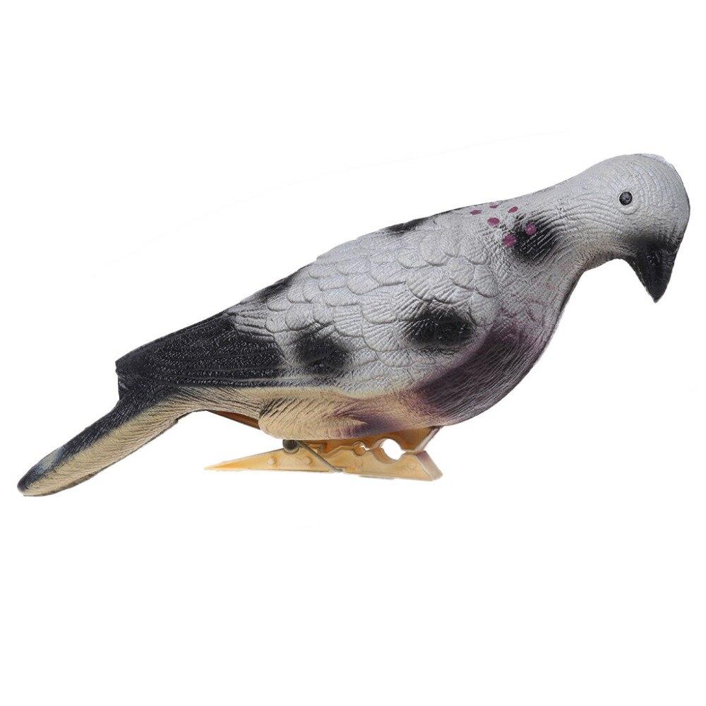 Tir à l/'arc 3D animal cible Pigeon Appât EVA Mousse creux Shooting Target For Outdoor
