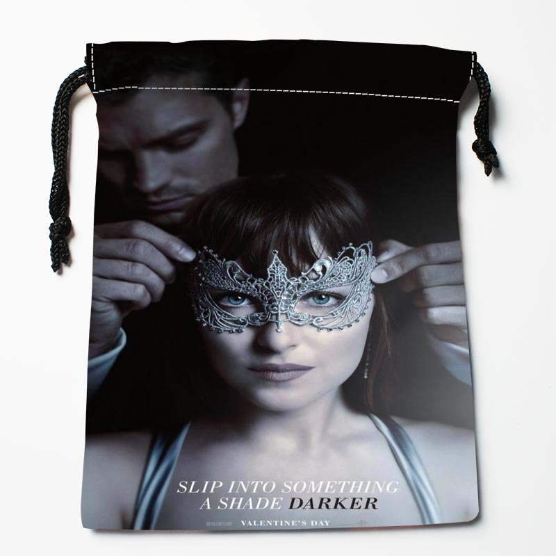 New Arrival Fifty Shades Of Grey Drawstring Bags Custom Storage Printed Receive Bag Type Bags Storage Bags Size 18X22cm ...