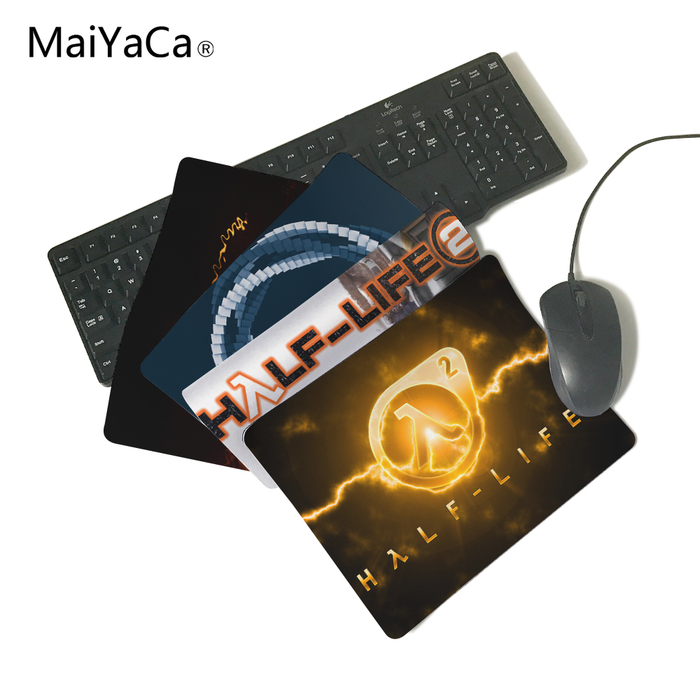 MaiYaCa Half Life 2 Logo Computer Mouse Pad Mousepads Decorate Your Desk Non-Skid Rubber Pad